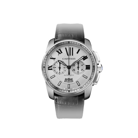Calibre de Cartier Chronograph watch W7100046