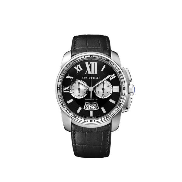 Calibre de Cartier Chronograph watch W7100060