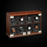 Watch Winder Eight Module Unit Briarwood