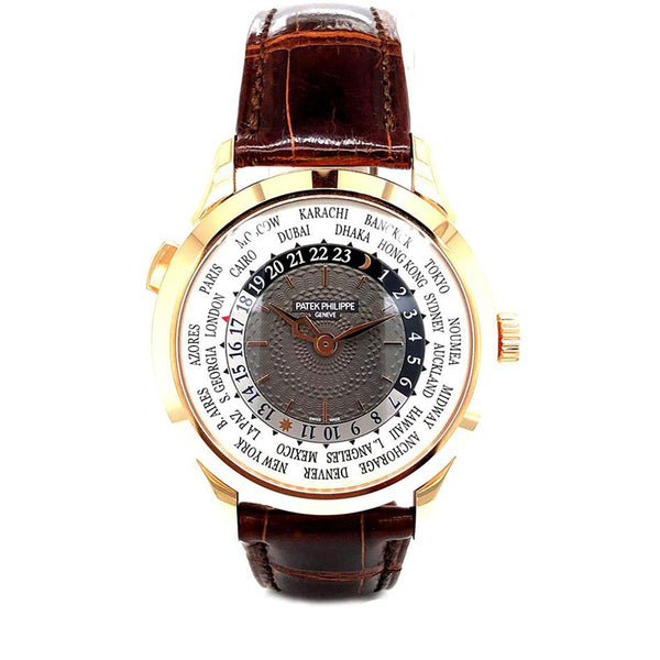 Patek Philippe Complications World Time 38.55MM 18KT Rose Gold 5230R-001