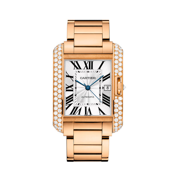 Cartier Tank Anglaise Watch, Extra-large Model WT100004