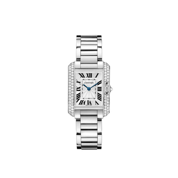 Cartier Tank Anglaise watch, small model WT100008
