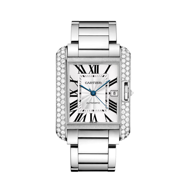 Cartier Tank Anglaise Watch, Extra-large Model WT100010