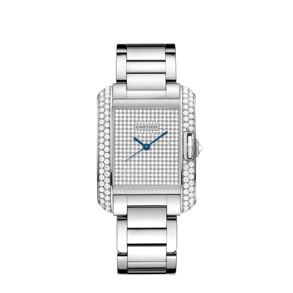 Cartier Tank Anglaise Watch, Large Model WT100011