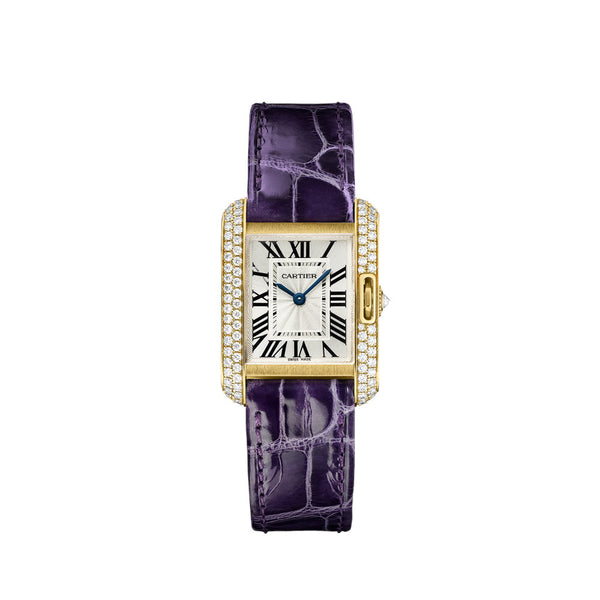 Cartier Tank Anglaise watch, small model WT100014