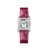 Cartier Tank Anglaise watch, small model WT100015