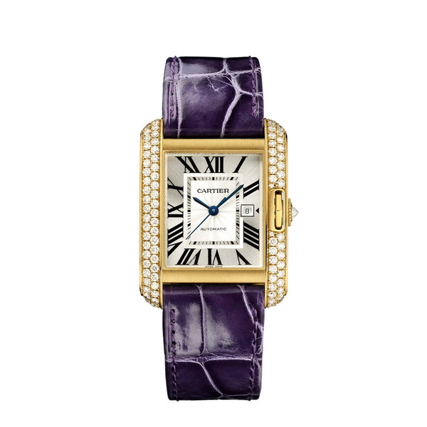 Cartier Tank Anglaise watch, large model WT100017