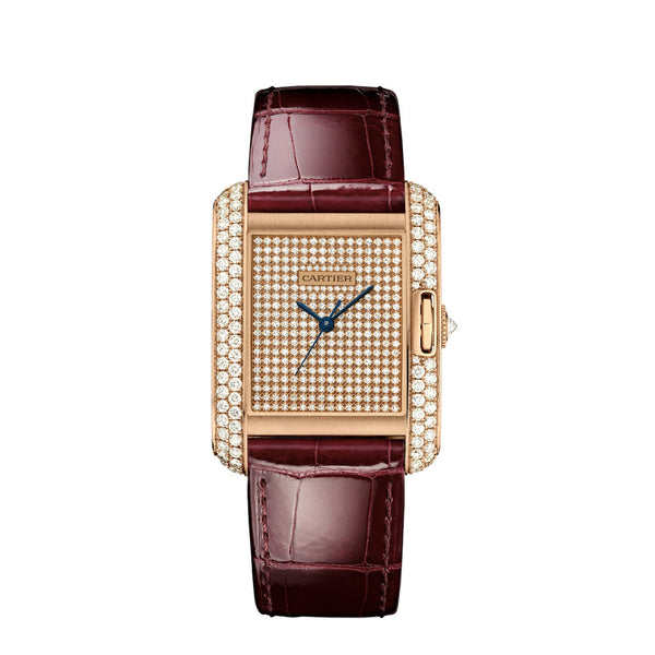 Cartier Tank Anglaise Watch, Large Model WT100019
