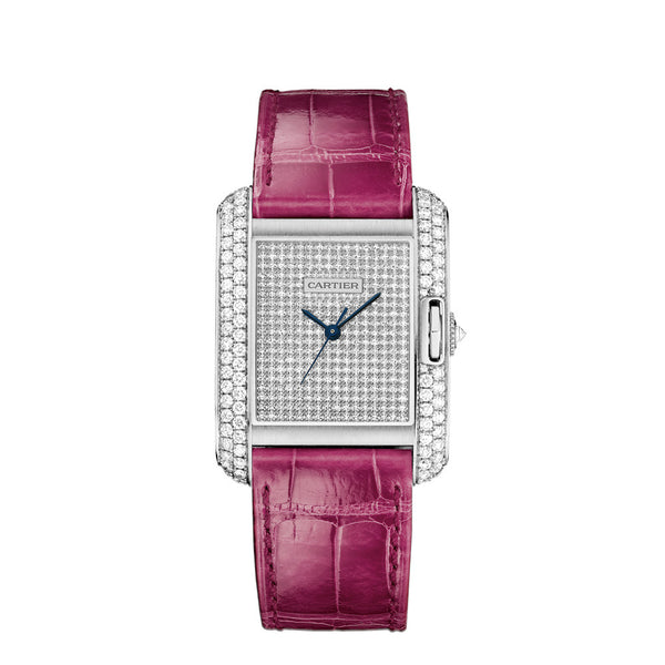 Cartier Tank Anglaise Watch, Large Model WT100020