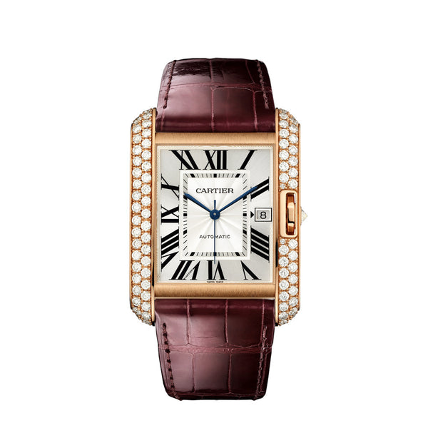 Cartier Tank Anglaise Watch, Extra-large Model WT100021