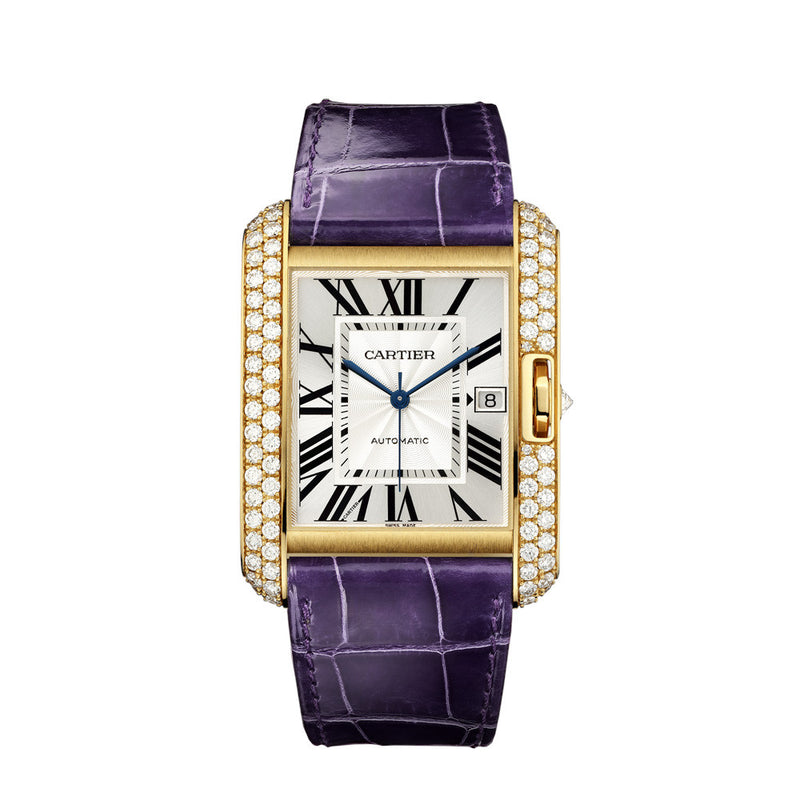 Cartier Tank Anglaise Watch, Extra-large Model WT100022