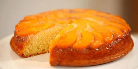 Juicy Peach Upsidedown Cake - CBD Vape Oil, CBD Edibles, CBD Pet, Terpenes, CBD wax, CBD crumble