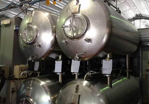 Marks Design and Metalworks - stackable stainless steel lager tanks