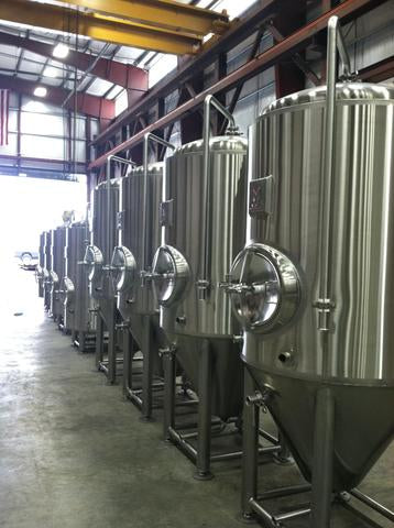 Stainless steel tanks and brewey expansion assistance - Marks Design & Metalworks