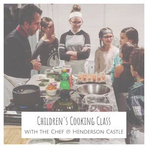 Children's Cooking Class : January 5th, 2019