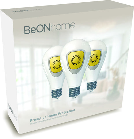 BeON Home 12 3-pack retailer kit: Standard bulbs.