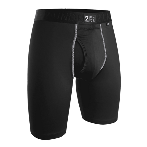 "2UNDR Power Shift 2.0 9"" Long Leg - Black"