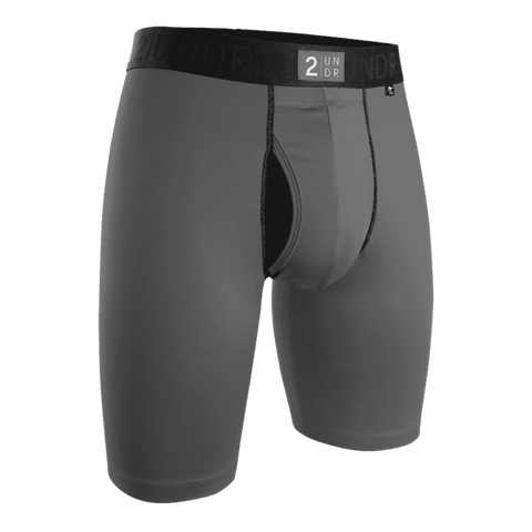 "2UNDR Power Shift 2.0 9"" Long Leg - Grey"