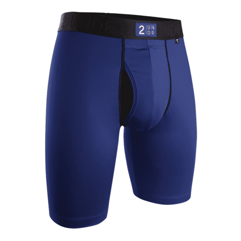 "2UNDR Power Shift 2.0 9"" Long Leg - Navy"