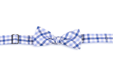 High Cotton Blake Check Boys Bow Tie