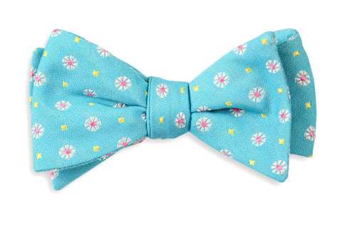 High Cotton Blue Avery Bow Tie