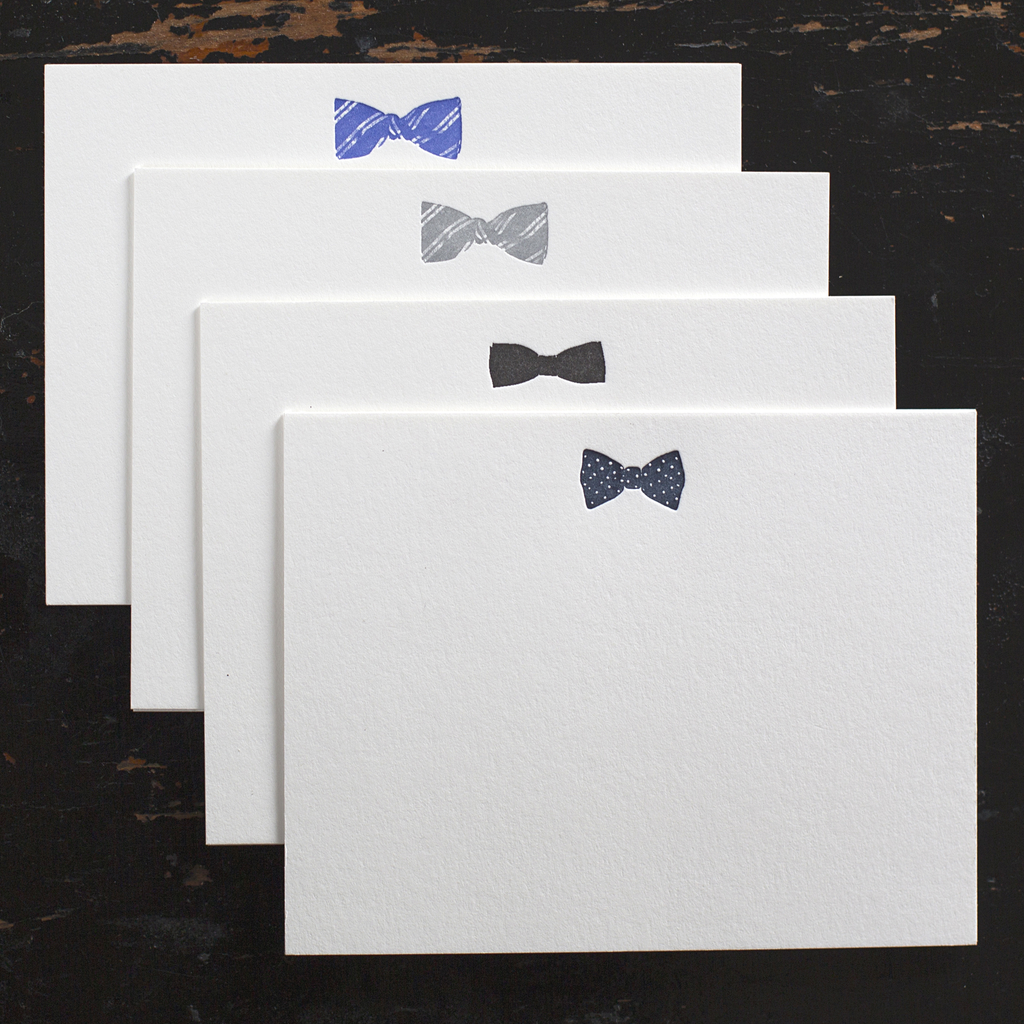 Ancesserie Bow Tie Note Cards - 8
