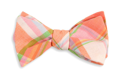High Cotton Camden Madras Bow Tie