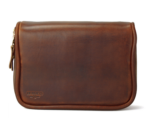 J.W. Hulme Travel Case - American Heritage Leather