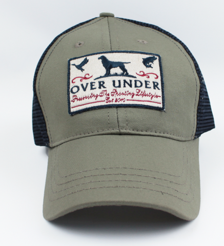 Over Under Mesh Back Cap - Sportsman's Patch