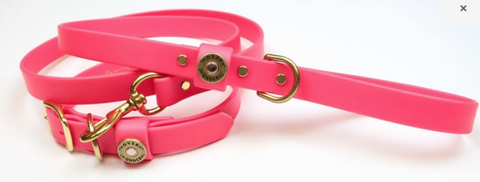 Over Under Water Dog Leash - Pink