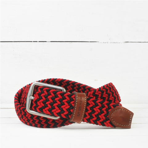 Martin Dingman Belt Collegiate - Red/Black