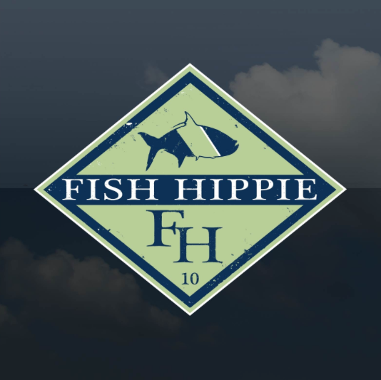 Fish Hippie Diamond Sticker