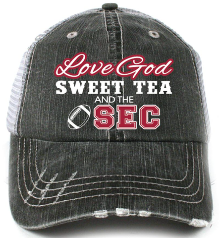 Katydid Love God, Sweet Tea and the SEC Trucker Hat