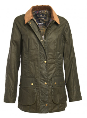 Barbour Women's Lightweight Beadnell Wax Jacket - Olive