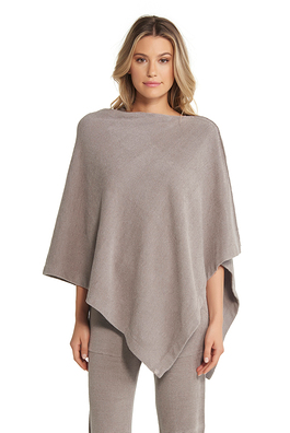 Barefoot Dreams Cozychic Ultra Lite Poncho - Beach Rock