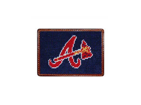 Smathers & Branson Atlanta Braves Card Wallet