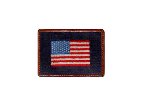 Smathers & Branson American Flag Card Wallet