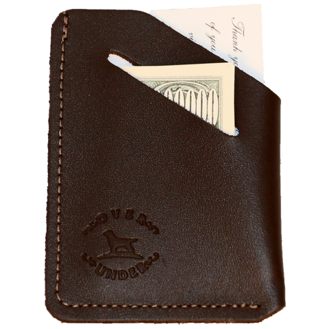 Over Under Minimalist Wallet - Brown