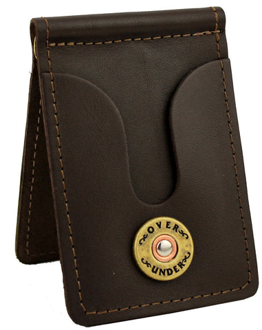 Over Under Front Pocket Wallet - Brown
