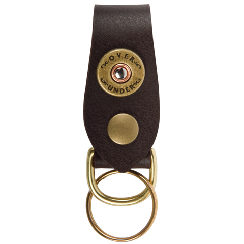 Over Under Key Fob - Brown