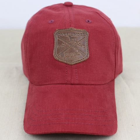 Over Under Corduroy Hat - Red Georgia Clay
