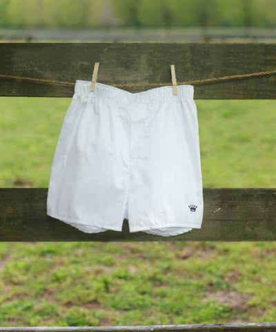 Royal Highnies Mens Boxers - White