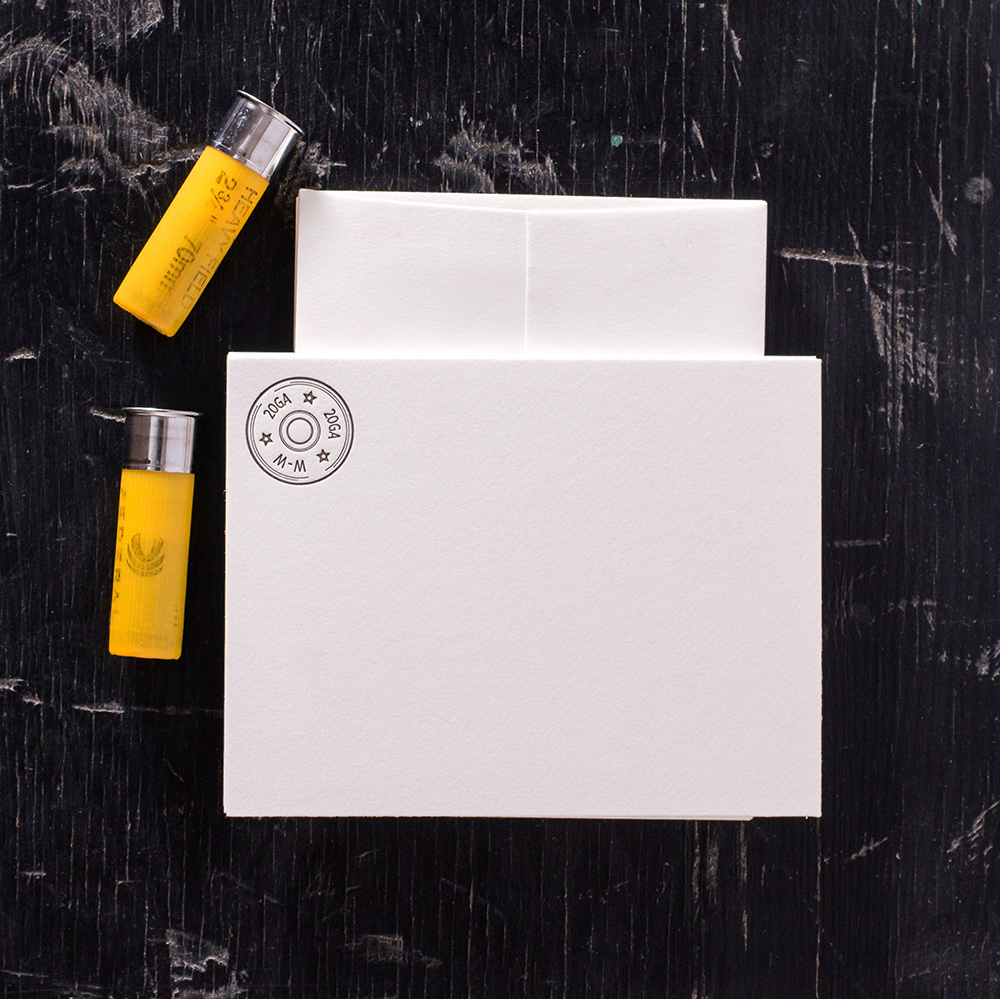 Ancesserie Shot Shell 20GA Note Cards - 8