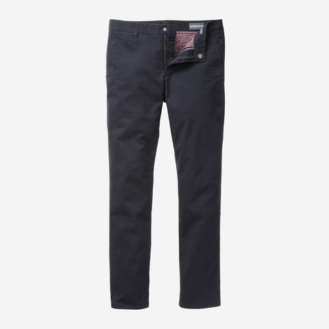 Stretch Washed Chino - Jet Blue