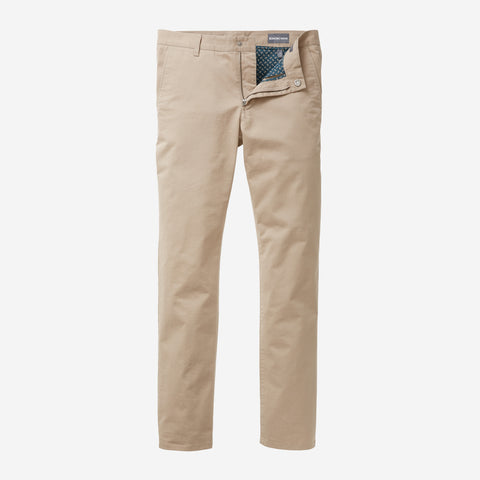 Stretch Washed Chino - Khaki