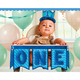 1st Birthday Boy Deluxe High Chair Decoration
