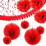 Red Paper Decoration Kit