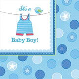 Baby Shower Boy Shower With Love Lunch Napkins (16)