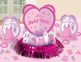 Baby Shower Girl - Shower With Love Table Decorating Kit
