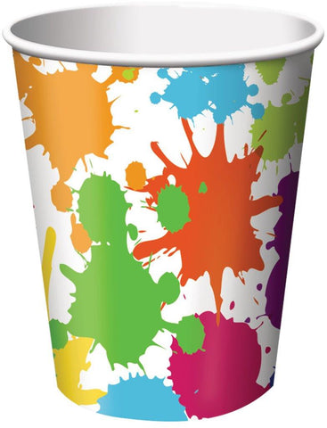 Art Party 9oz Paper Cups (8)